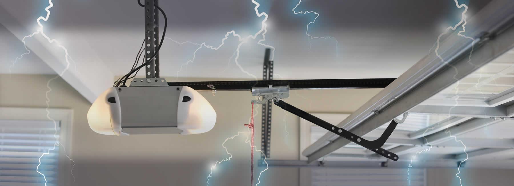 Have Zitzow Electric run wiring for a garage door opener.